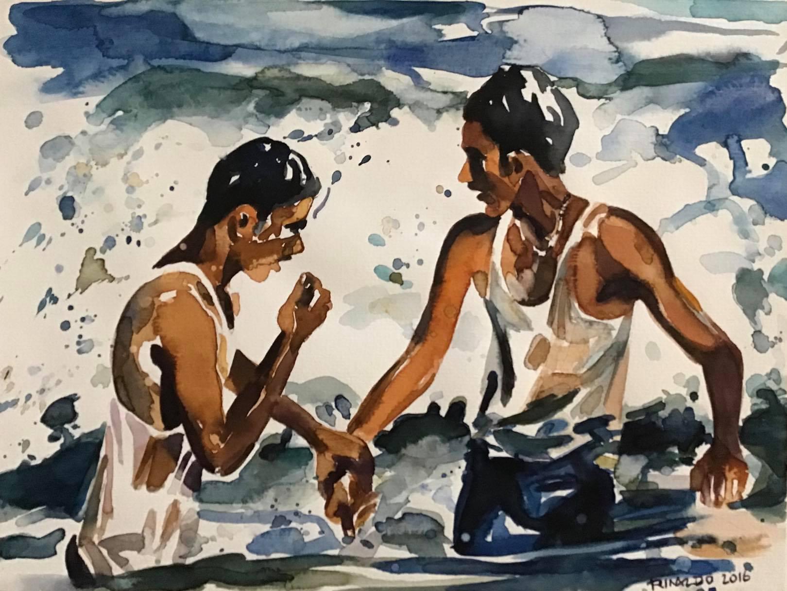 Moonlight Swimmers by Rinaldo Hopf