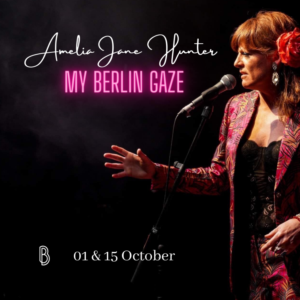 My Berlin Gaze by Amelia Jane Hunter