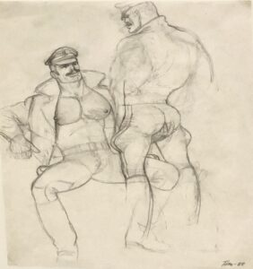 Untitled (P. 674) by Tom of Finland